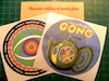 gong mandala and teapot stickers